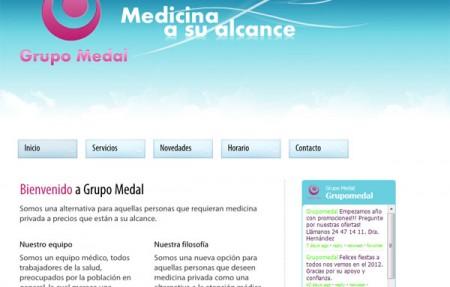 Diseño y Hospedaje Web - Grupo Medal