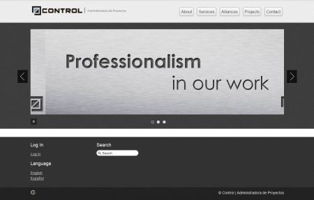 Diseño Web hosting - controlcr
