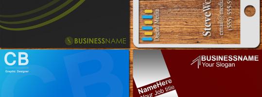 Descarga tarjetas de presentación gratis – Business Cards FREE